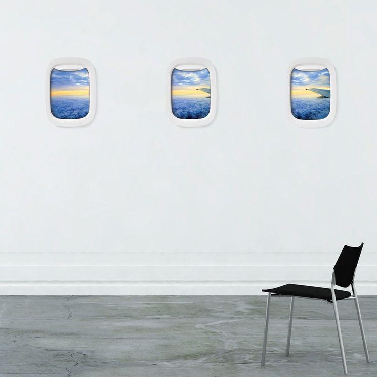 Air Frame - Marco ventanilla de avión para fotos