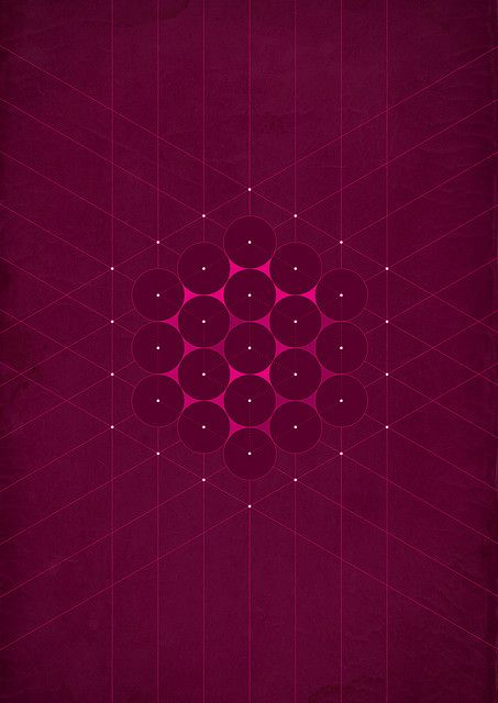 Metatron's Cube: Pattern believed to have sacred geometry with religious value depicting the fundamental principles of space and time.
