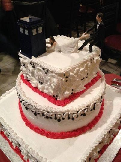 awesome wedding cake topper