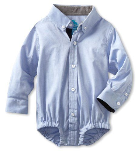 Andy  Evan Baby Boy's Bodysuit- dress shirt onesies for baby boys LOVE IT!