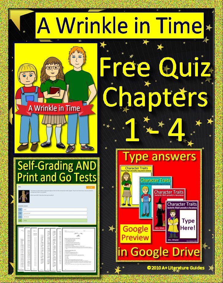 A Wrinkle In Time Distance Learning Free Google Classroom Self