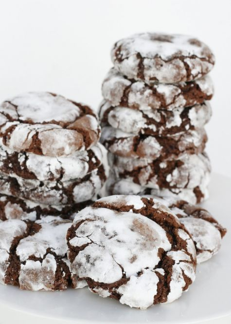 Chocolate Crinkles {Recipe} - Glorious Treats