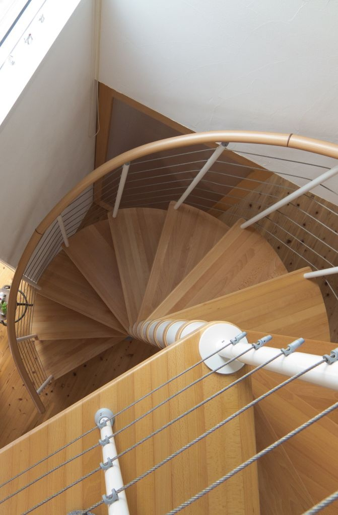 Fontanot Staircase in a Japanese home