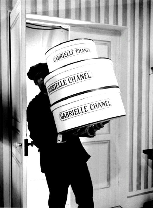 Vintage CoCo Chanel's Office Storage, Paris