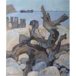 "Moira Huntly, Shipwreck beach, Lanai. """