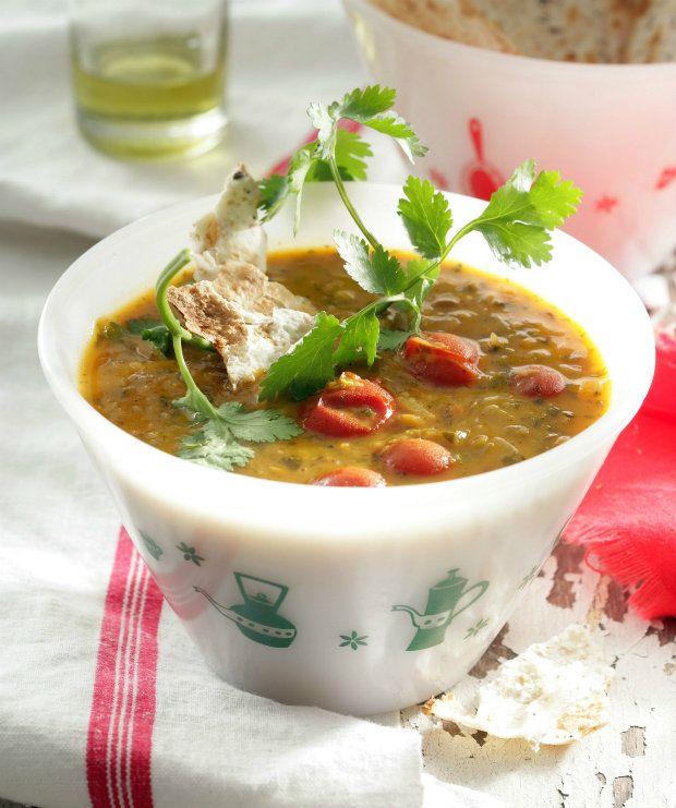 Voňavá čočková polévka s kokosovým mlékem, Foto: isifa.com