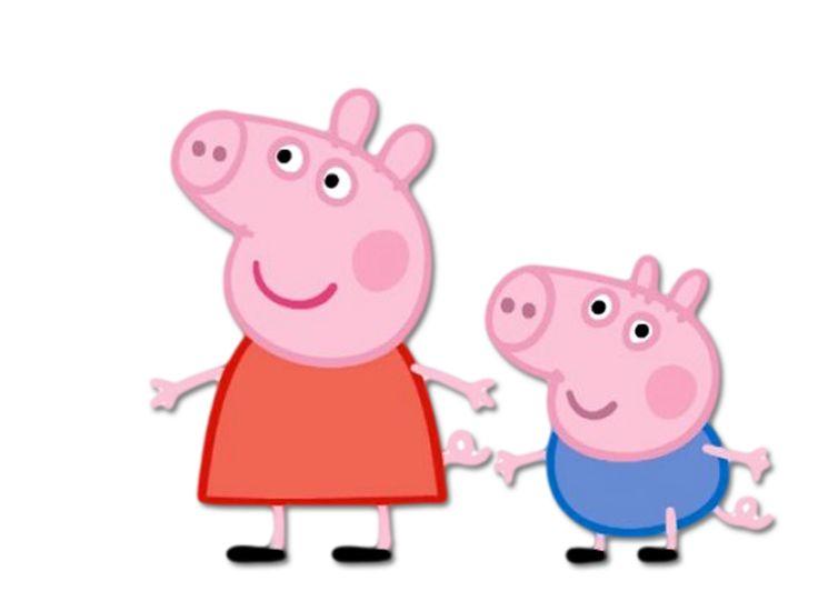 George Pig: Imprimibles para Fiestas Gratis e Imágenes.   Ideas y material gratis para fiestas y celebraciones Oh My Fiesta!