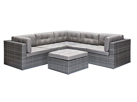Dania - Outdoor Furniture - Coryne Outdoor Sectional