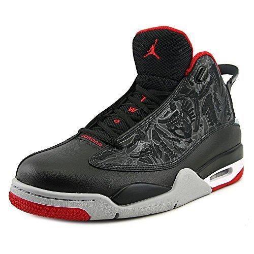 Nike Air Jordan 8 Retro, Zapatillas de Deporte para Hombre, Negro/Rojo/Gris (Blk/TR Rd-Flnt Gry-Brght Cncrd-), 40 EU