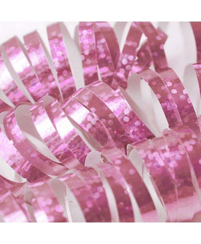 SERPENTINER - pink serpentiner til fester