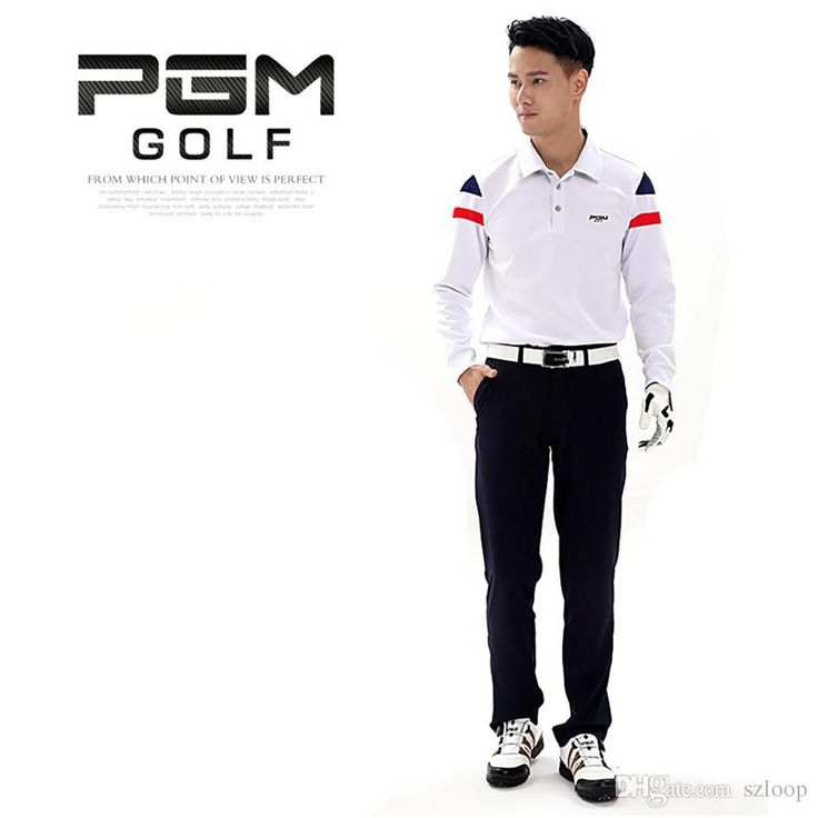 Wholesale cheap  online, best use - Find best pgm brand men outdoor golf match polo shirts long sleeve golf t-shirts clothing autumn winter golf tour t-shirt 2513034 at discount prices from Chinese golf t-shirts supplier - szloop on DHgate.com.