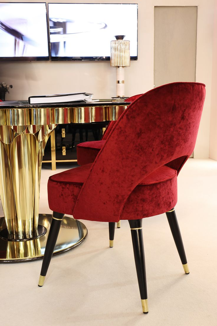 Collins Chair sets up a luxurious statement in any interior. Don't miss midcentury modern Collins Chair at M&O 2017 Paris where a bohemian environment is set on another level by this retro furniture. Hall 7| Stand E40
