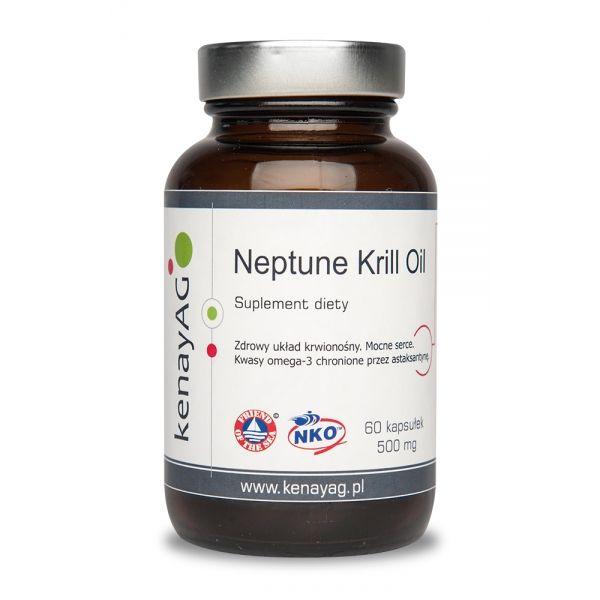Neptune krill oil - olej z kryla NKO 60 kaps. - Kenay