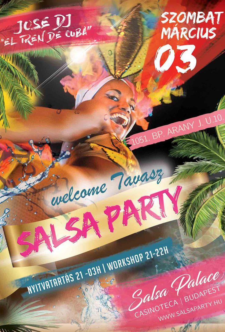 welcome tavasz salsa party