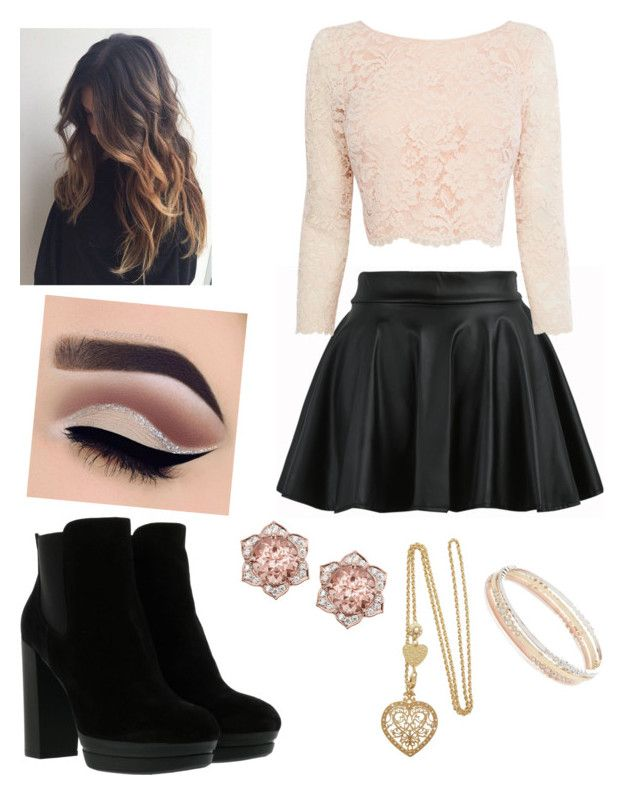 """""""Clubbing with Jagiya!~"""" by madi-martinez on Polyvore featuring Coast, Hogan and Kate Spade"""