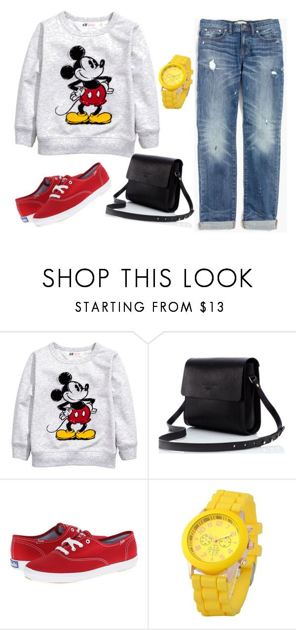 """""""Ootd"""" by thaliabadillomorales ❤ liked on Polyvore featuring Keds, Zodaca and Madewell"""