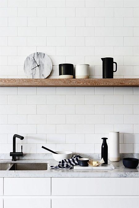 Un robinet noir pour la cuisine - FrenchyFancy