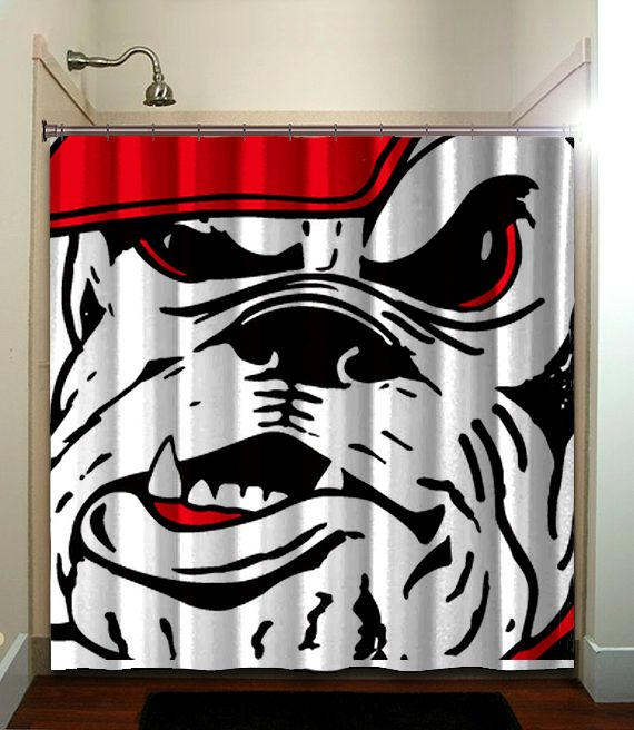 Fatboy Studio printed waterproof polyester fabric shower curtain with…