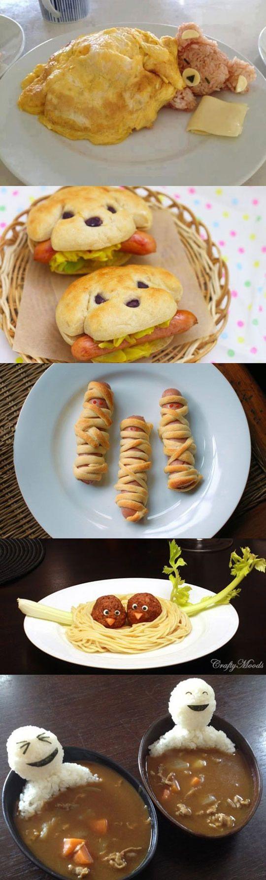 créative nourriture …