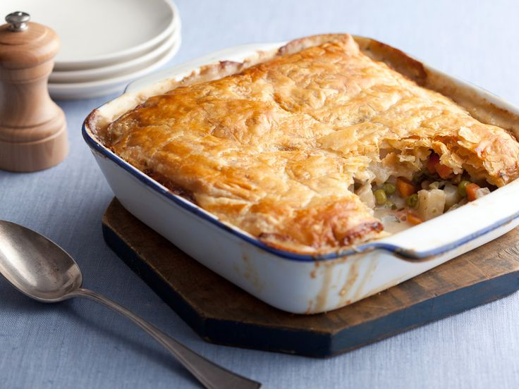 Serve this hearty vegetarian pot pie with a buttery Chardonnay for a comforting yet sophisticated pairing.