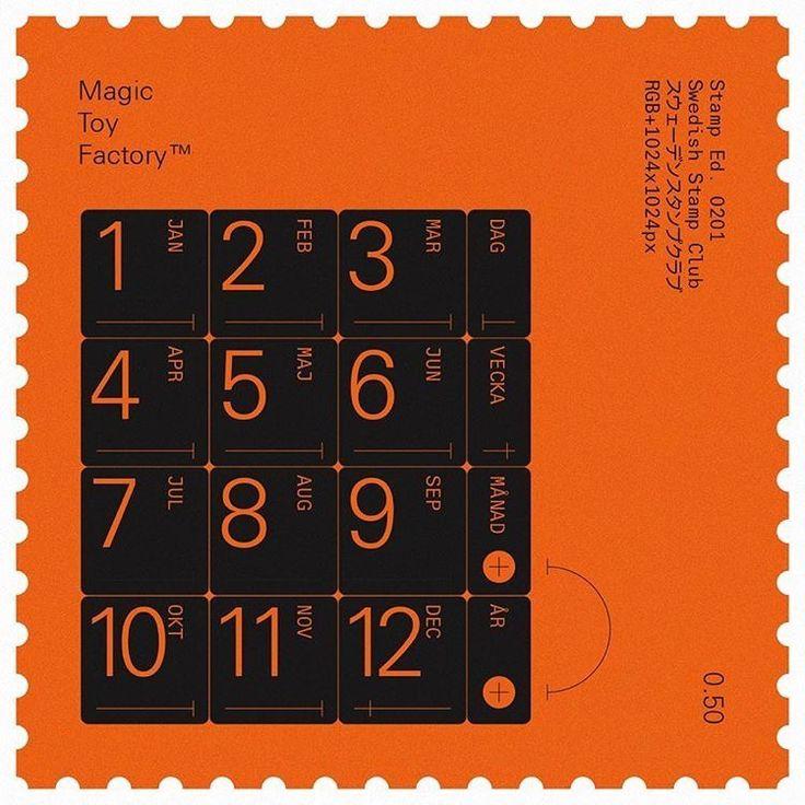 Swedish Stamp Club / Magic Toy Factory / 0201 / Stamp / 2016