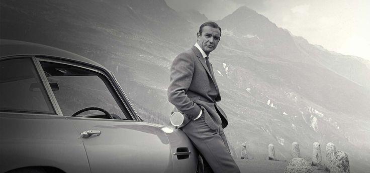 James Bond's Aston Martin DB5. Goldfinger (1964).