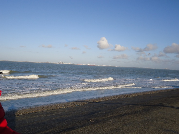 de zee bij Breskens