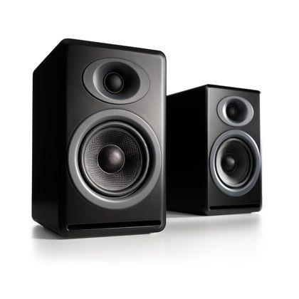 AudioEngine® P4 Premium Passive Bookshelf Speakers, Black