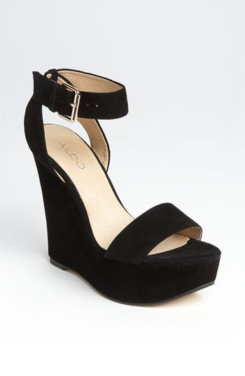 ALDO 'Harvat' Platform Sandal. Love and bought the tan one in this