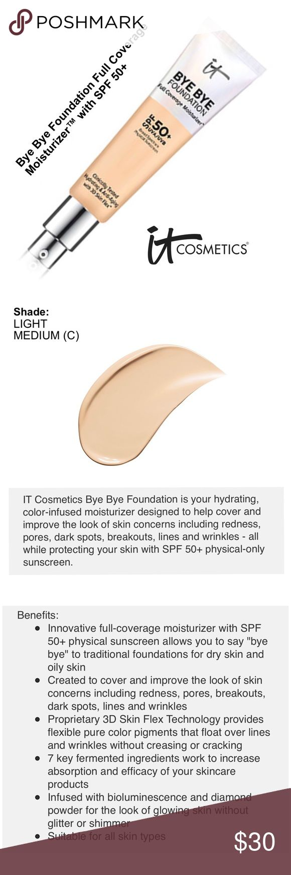 IT COSMETICS Bye Bye Foundation NWT Makeup items