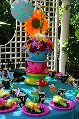 Mad Hatter Tea Party: Tea Party, Alice In Wonderland, Mad Hatters, Hatter Tea, Tea Parties, Party Ideas, Baby Shower, Birthday Ideas