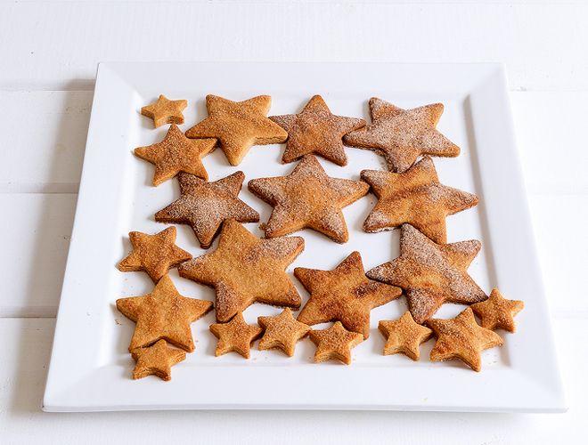 Star cinnamon cookies