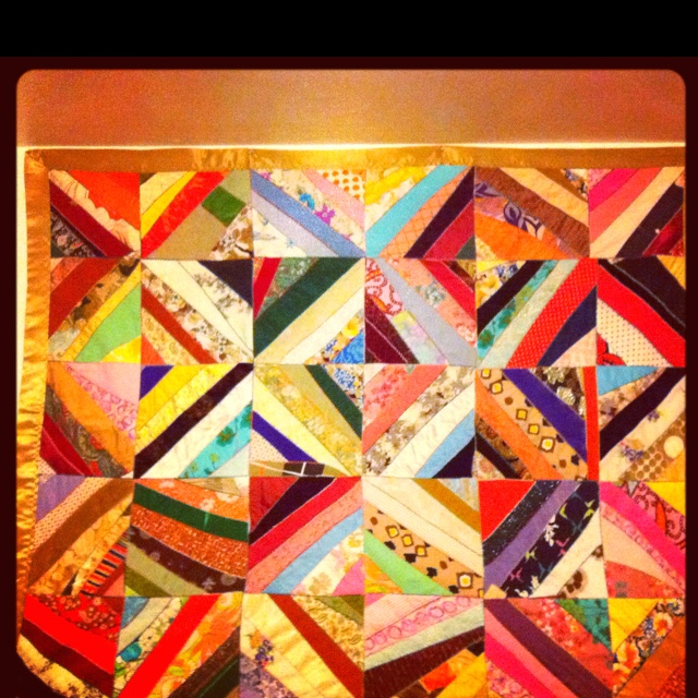 Old old quilt I got for Christmas!