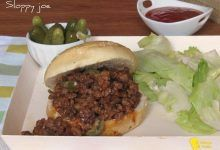 Sloppy joe: panino con carne macinata