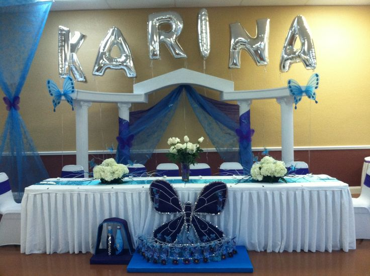 Quinceanera Table Decorations Centerpieces Pin Quinceanera