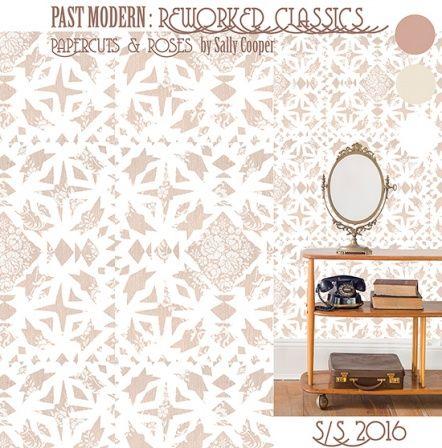 Sally Cooper   Make It In Design   Surface Pattern Design   Summer School 2015   Past Modern Reworked Classics   Advanced Creative Brief