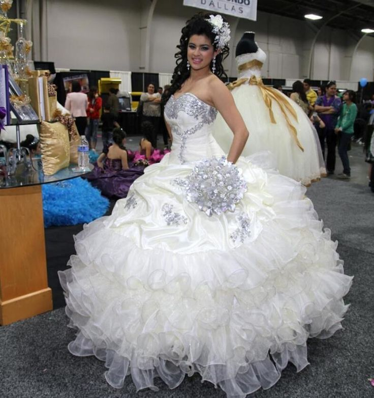 Give yourself the best gift for your adult ceremony -2015 crystal beads white quinceanera dresses for sweet 16 princess ball gowns organza long pageant birthday party dress in yateweddingdress. And cheap ball dresses,cheap semi formal dresses and discount formal dresses are offered cheaply in price.