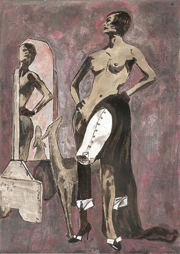 Jacek Sikora ( #Siccora ) CARTOON FOR NEWTON, 2011, Acrylic on canvas paper, 29 x 21 cm #art #contemporary #fineart #canvas #abstract #abstractart #abstractpainting #abstraction #painting #contemporaryart #deep #design #loveart #visualartist #modern #buyart #abstract #impression