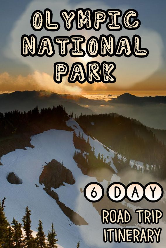 Itching for a Pacific Northwest road trip? Get this detailed 6-day Olympic National Park Itinerary filed with tips for the best hikes, campsites, beaches & food!