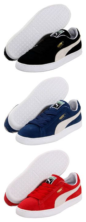 Puma Suede Classic Shoes got to have them all