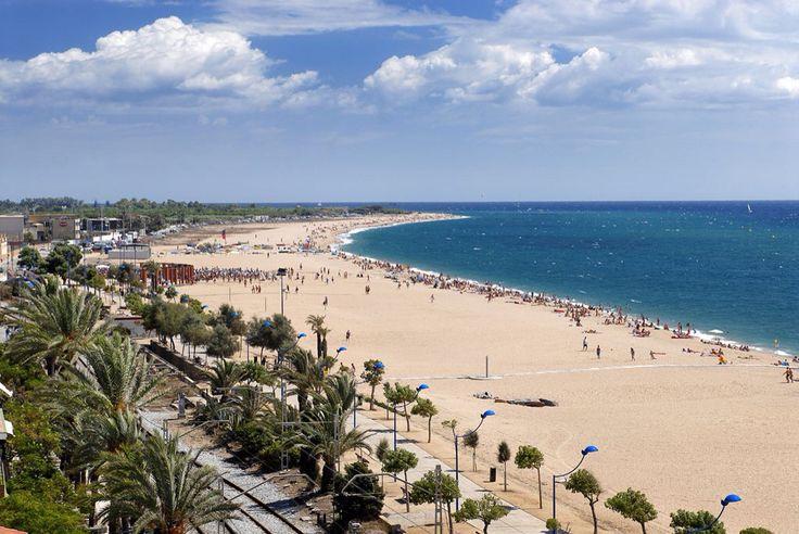 Malgrat de Mar, Costa Brava, Spain.