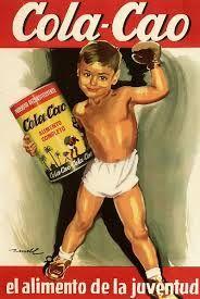 Cola Cao es una marca y producto de la compañía Grupo Nutrexpa, consistente en una mezcla de cacao en polvo soluble, harina de trigo y cola-malteada. Fue lanzado al mercado en España en 1945. El producto sirve para cambiar el sabor de la leche para que sepa a chocolate. Desde los años 50 ha sido el líder y referente en la categoría de cacao soluble en España...  #cacao #publicidad