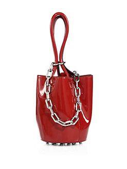 Alexander Wang - Roxy Mini Patent Leather Bucket Bag