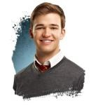 Eddie for House of Anubis! He is so OMG, isn't he? And I love Peddie!