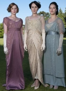 Downton Abbey Fashions: Evening Dresses, Downtonabbey, Ladies Mary, Periodic Dramas, Abbey Fashion, Downtown Abbey, The Dresses, Downton Abbey, Costumes Ideas