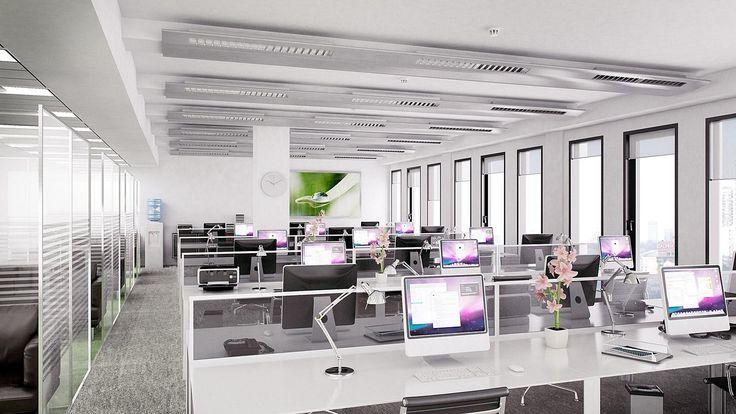 Open space office design office pinterest open for Office space design quarter