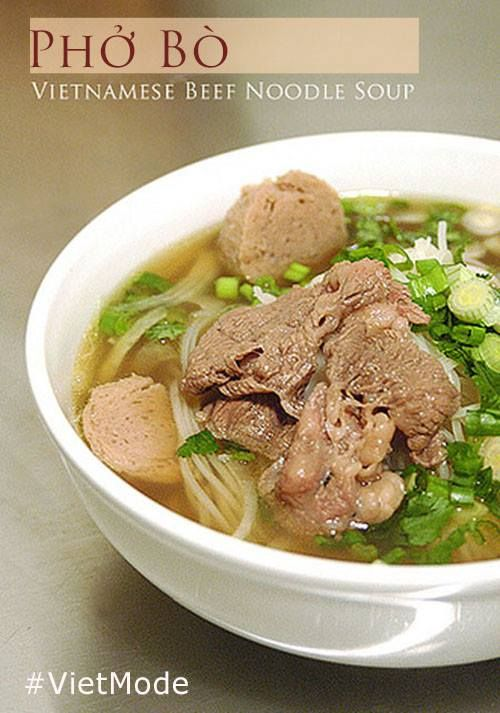 """Have you ever hear about the food people never get bored when they ate everyday?. That kind of food, people could eat in the morning, afternoon, everning or the whole day, all peoples in the world love it. It've been appeared countries in the world. """"Phở"""" is the quintessential culinary art of VietNam. Phở /fuh?/ : Vietnamese noodle.   http://facebook.com/VietNamMode"""