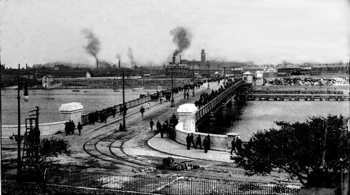 walney bridge 1920 barrow in furness