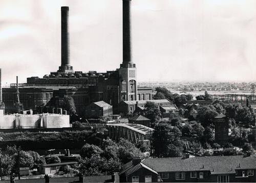 1974 Barton Power Station