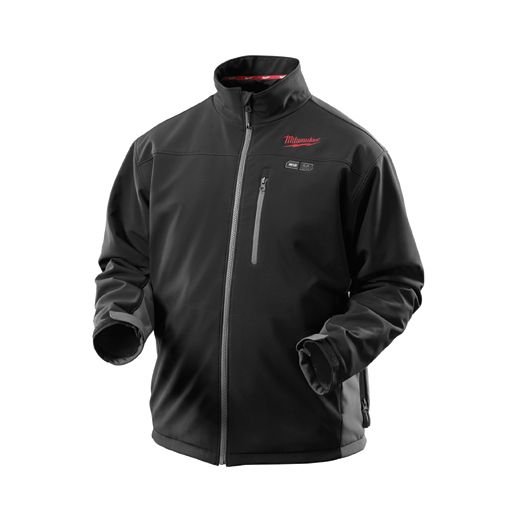 12-Volt Cordless Black Heated Jacket Kit– Small, Medium, Large, XL, 2X, 3X | Milwaukee Tool - want the mens one cause it has pocket warmers and the girls one doesn't!!